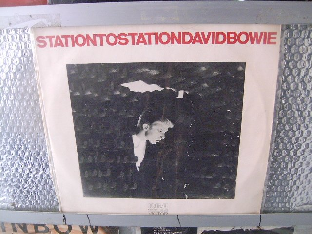 DAVID BOWIE station to station LP 1976 ROCK