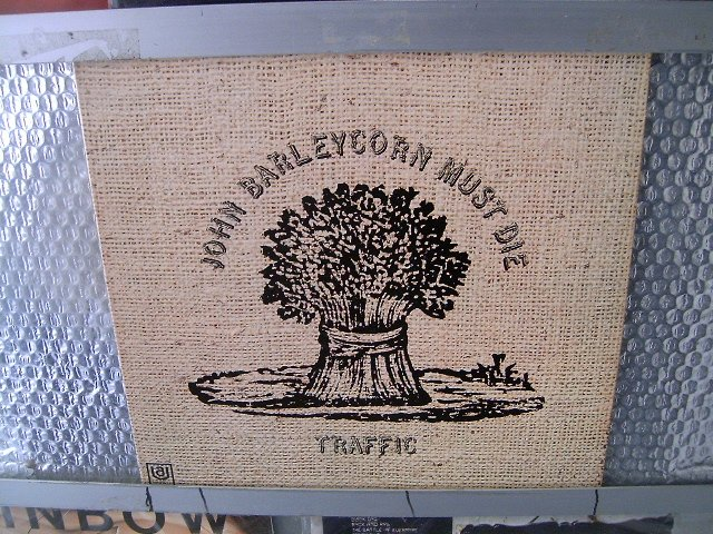 TRAFFIC john barleycorn must die LP 1970 ROCK**