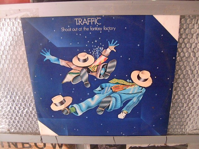 TRAFFIC shoot out the fantasy factory LP 1973 ROCK