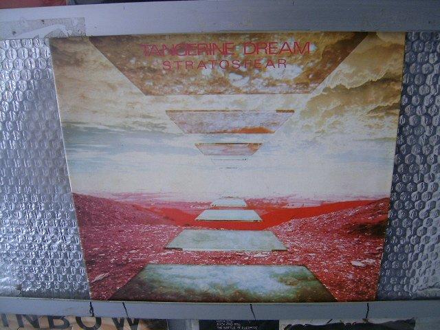 TANGERINE DREAM stratosfear LP 1976 PROGRESSIVE ROCK**