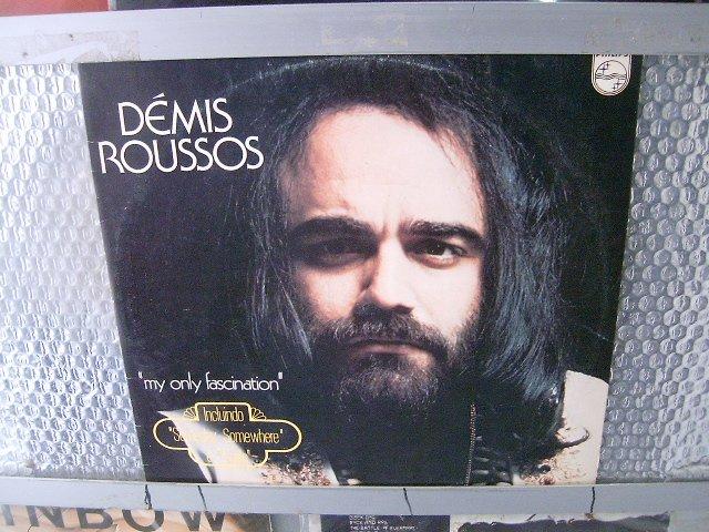 DEMIS ROUSSOS my only fascination LP 1974 ROCK**