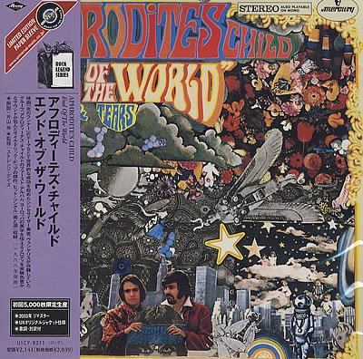 APHRODITE'S CHILD child of the world CD FORMATO MINI VINIL 1968 ROCK