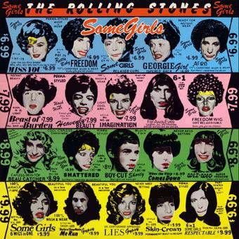 ROLLING STONES some girls CD FORMATO MINI VINIL 1978 ROCK