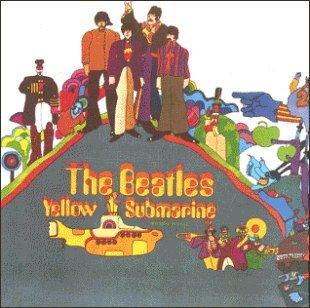 BEATLES yellow submarine CD FORMATO MINI VINIL 1966 ROCK