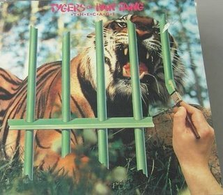 TYGERS OF PAN TANG the cage CD 1982 HEAVY METAL