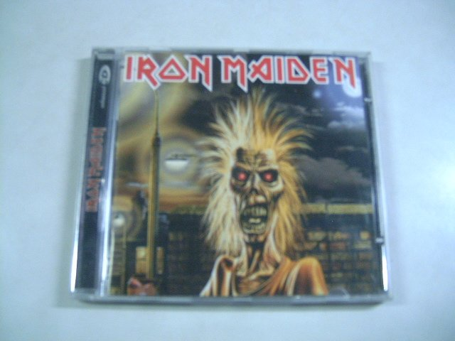 IRON MAIDEN iron maiden CD 1980 HEAVY METAL