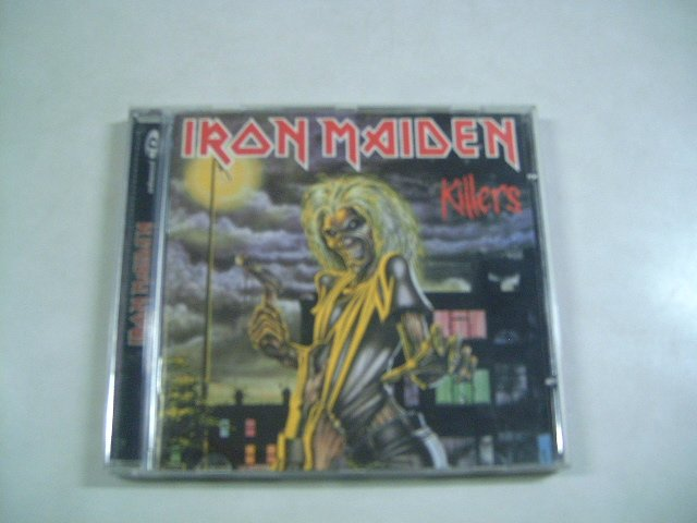 IRON MAIDEN killers CD 1981 HEAVY METAL