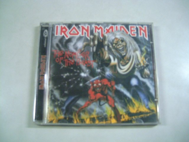 IRON MAIDEN the number of the beast CD 1982 HEAVY METAL