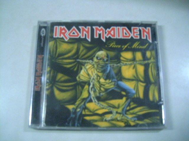 IRON MAIDEN piece of mind CD 1983 HEAVY METAL**
