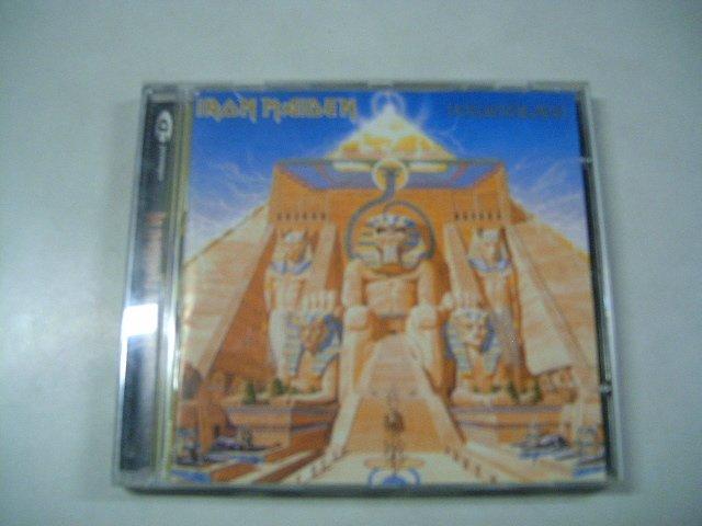 IRON MAIDEN powerslave CD 1984 HEAVY METAL