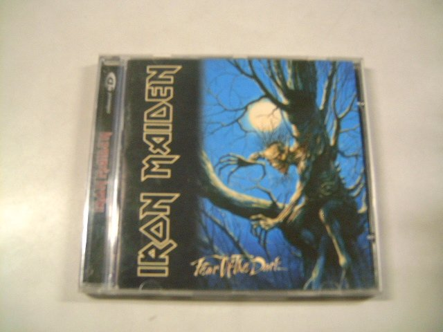IRON MAIDEN fear of the dark CD 1992 HEAVY METAL