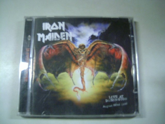 IRON MAIDEN live at donington 2CD 1993 HEAVY METAL