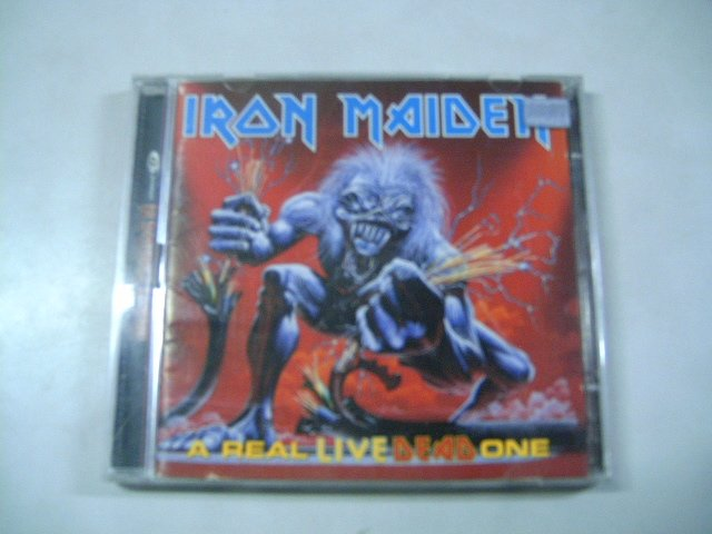 IRON MAIDEN a real live dead one 2CD 1998 HEAVY METAL