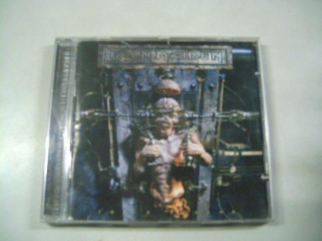 IRON MAIDEN the x factor CD 1995 HEAVY METAL