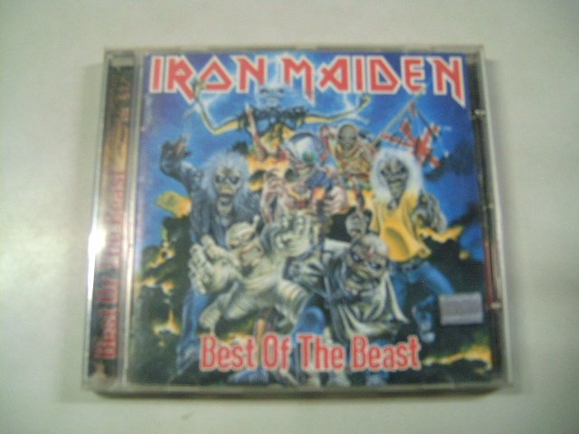 IRON MAIDEN  best of the beast CD 1996 HEAVY METAL