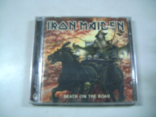 IRON MAIDEN death on the road 2CD 2005 HEAVY METAL