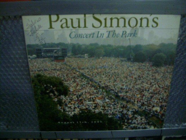 PAUL SIMON paul simon's concert in the park 2LP 1991 ROCK**