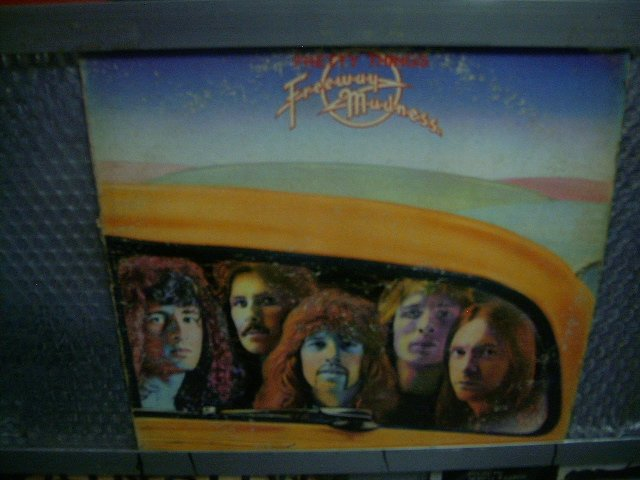 PRETTY THINGS freeway madness LP 1973 ROCK