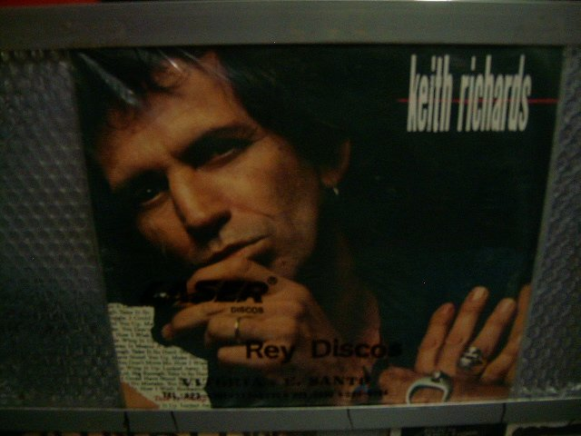 KEITH RICHARDS talk is cheap LP 1988 ROCK