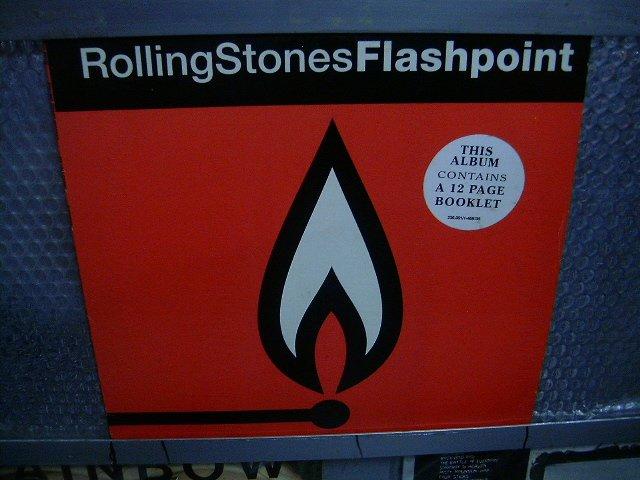 ROLLING STONES flashpoint LP 1991 ROCK**