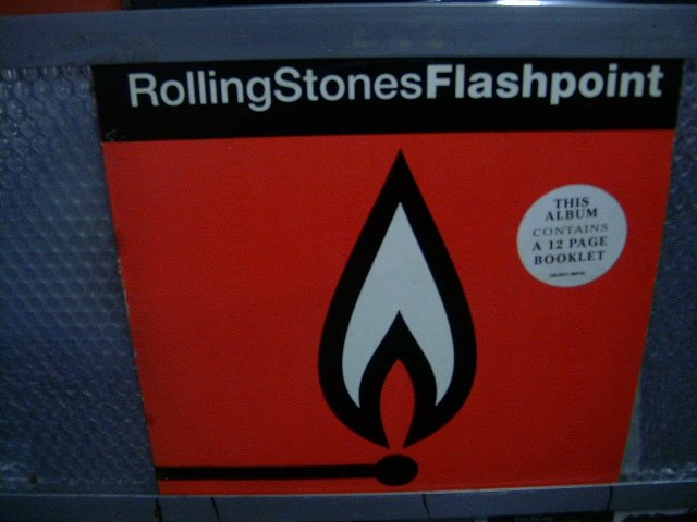ROLLING STONES flashpoint LP 1991 ROCK*