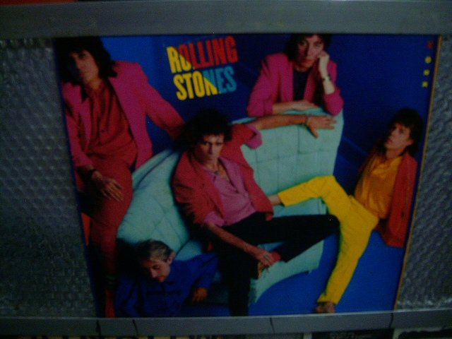 ROLLING STONES dirty work LP 1986 ROCK**