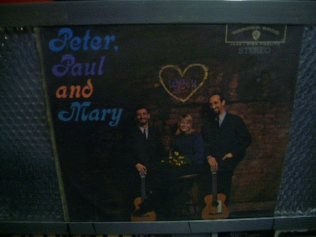 PETER, PAUL AND MARY peter, paul and mary LP 1964 ROCK**