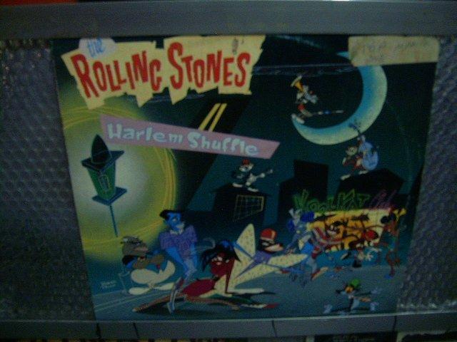 ROLLING STONES harlem shuffle LP 1986 ROCK**