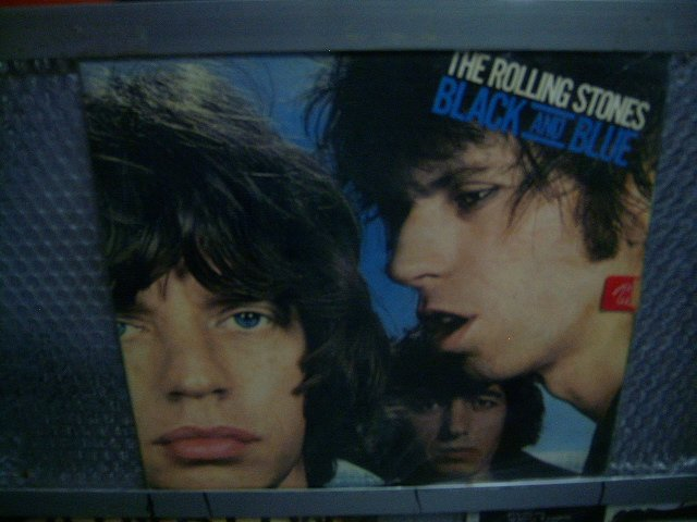ROLLING STONES black and blue LP 1976 ROCK**