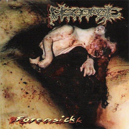 DISGORGE forensick CD 1994 GORE DEATH METAL