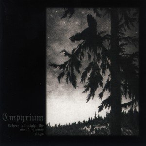 EMPYRIUM where at night the wood grouse plays CD 1999 DARK DOOM METAL