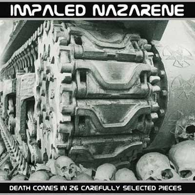 IMPALED NAZARENE death comes in 26 carefully selected pieces CD 2005 BLACK META