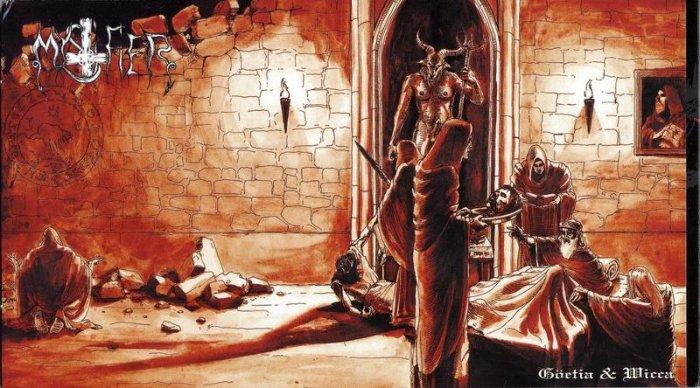 MYSTIFIER göetia & wicca 2CD 2001 BLACK METAL