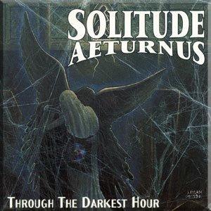 SOLITUDE AETURNUS through the darkest hour CD 1994 DOOM HEAVY METAL