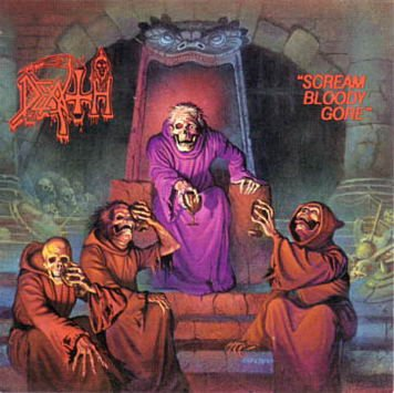 DEATH scream bloody gore CD 1987 DEATH METAL