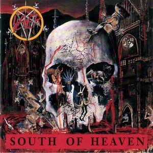 SLAYER south of heaven CD 1988 THRASH METAL