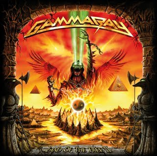 GAMMA RAY land of the free 2 CD 2007 HEAVY METAL