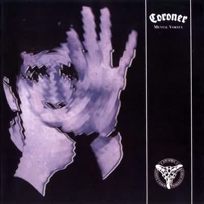 CORONER mental vortex CD 1991 THRASH METAL