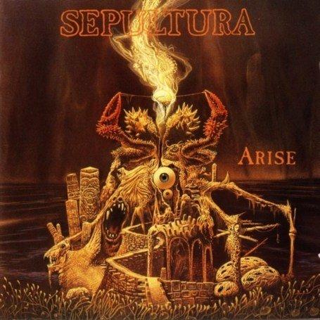 SEPULTURA arise CD 1991 THRASH METAL