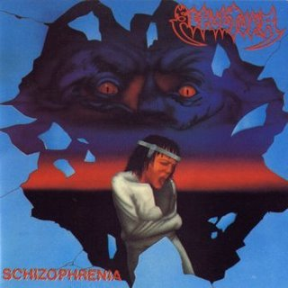 SEPULTURA schizophrenia CD 1987 THRASH METAL