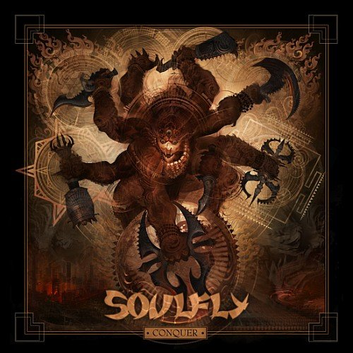 SOULFLY conquer CD 2008 THRASH METAL