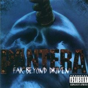 PANTERA far beyond driven CD 1994 THRASH METAL