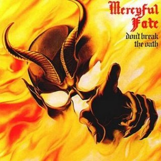 MERCYFUL FATE don't break the oath CD 1984 HEAVY METAL