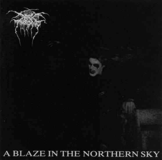 DARKTHRONE a blaze in the northern sky CD 1991 BLACK METAL