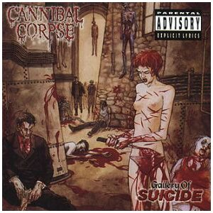 CANNIBAL CORPSE gallery of suicide CD 1998 DEATH METAL