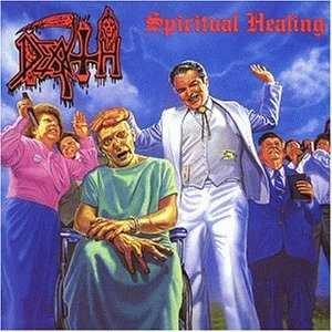 DEATH spiritual healing CD 1990 DEATH METAL