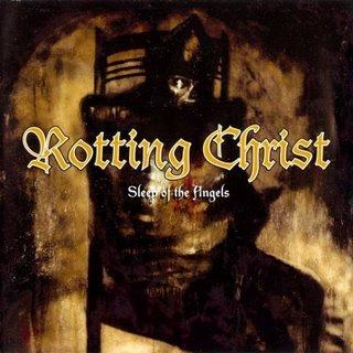 ROTTING CHRIST sleep of the angels CD 1999 GOTHIC BLACK METAL
