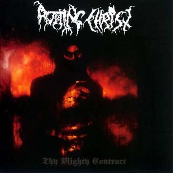 ROTTING CHRIST thy mighty contract CD 1997 BLACK METAL