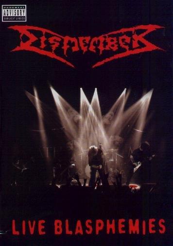 DISMEMBER live blasphemies 2DVD 2007 DEATH METAL**