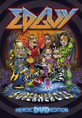 EDGUY superheroes DVD 2005 HEAVY METAL**